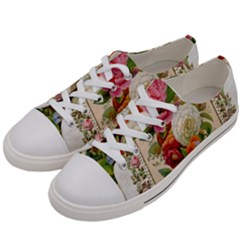 Ornate 1171143 1280 Women s Low Top Canvas Sneakers by vintage2030