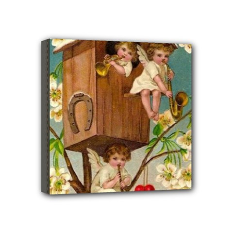 Valentine 1171220 1920 Mini Canvas 4  X 4  (stretched) by vintage2030