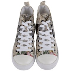 Vintage 1167772 1920 Women s Mid Top Canvas Sneakers