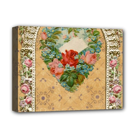 Valentine 1171144 1920 Deluxe Canvas 16  X 12  (stretched)  by vintage2030