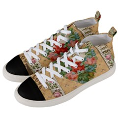 Valentine 1171144 1920 Men s Mid Top Canvas Sneakers by vintage2030