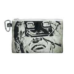 Vintage 1143334 1920 Canvas Cosmetic Bag (medium) by vintage2030