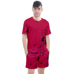 Vintage 1143360 1920 Men s Mesh Tee And Shorts Set by vintage2030