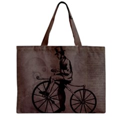 Vintage 1143342 1920 Zipper Medium Tote Bag by vintage2030