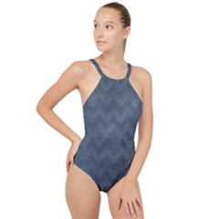 Background 1151332 1920 High Neck One Piece Swimsuit