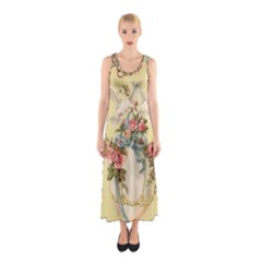 Easter 1225798 1280 Sleeveless Maxi Dress