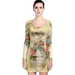 Easter 1225798 1280 Long Sleeve Bodycon Dress