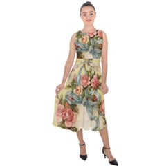 Easter 1225798 1280 Midi Tie Back Chiffon Dress