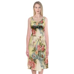 Easter 1225798 1280 Midi Sleeveless Dress