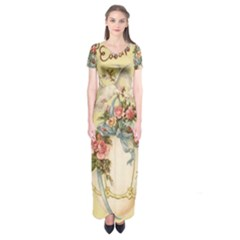 Easter 1225798 1280 Short Sleeve Maxi Dress