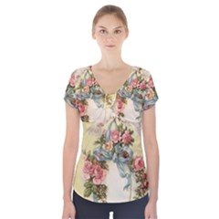 Easter 1225798 1280 Short Sleeve Front Detail Top