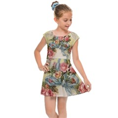 Easter 1225798 1280 Kids Cap Sleeve Dress