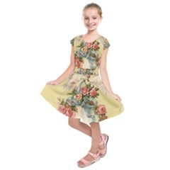 Easter 1225798 1280 Kids  Short Sleeve Dress