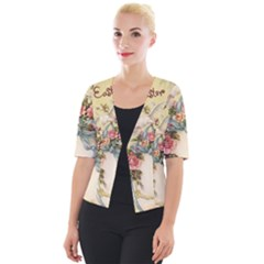 Easter 1225798 1280 Cropped Button Cardigan