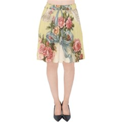 Easter 1225798 1280 Velvet High Waist Skirt