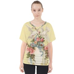 Easter 1225798 1280 V Neck Dolman Drape Top