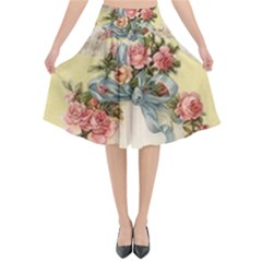 Easter 1225798 1280 Flared Midi Skirt