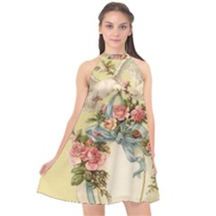 Easter 1225798 1280 Halter Neckline Chiffon Dress