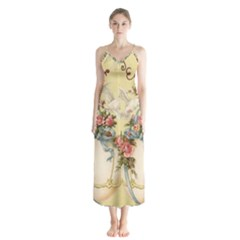 Easter 1225798 1280 Button Up Chiffon Maxi Dress
