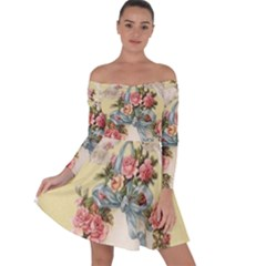 Easter 1225798 1280 Off Shoulder Skater Dress