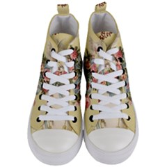 Easter 1225798 1280 Women s Mid Top Canvas Sneakers