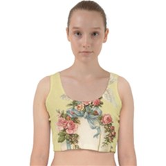 Easter 1225798 1280 Velvet Racer Back Crop Top