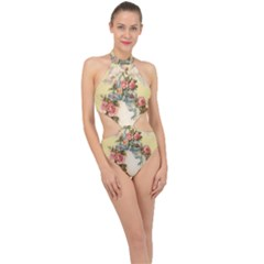 Easter 1225798 1280 Halter Side Cut Swimsuit