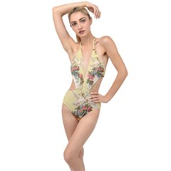 Easter 1225798 1280 Plunging Cut Out Swimsuit