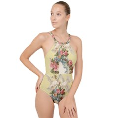Easter 1225798 1280 High Neck One Piece Swimsuit