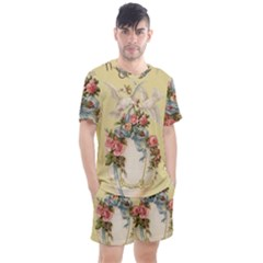 Easter 1225798 1280 Men s Mesh Tee And Shorts Set