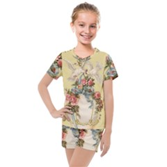 Easter 1225798 1280 Kids  Mesh Tee And Shorts Set