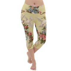 Easter 1225798 1280 Lightweight Velour Capri Yoga Leggings