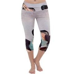 Vintage 1133810 1920 Capri Yoga Leggings
