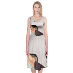 Vintage 1133810 1920 Midi Sleeveless Dress