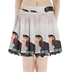 Vintage 1133810 1920 Pleated Mini Skirt