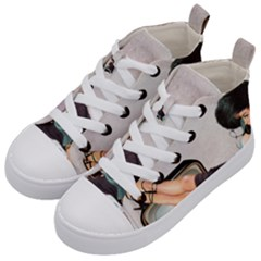 Vintage 1133810 1920 Kid s Mid Top Canvas Sneakers by vintage2030