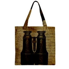 Background 1135045 1920 Zipper Grocery Tote Bag by vintage2030