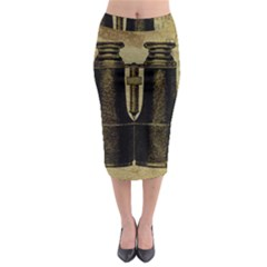 Background 1135045 1920 Midi Pencil Skirt by vintage2030