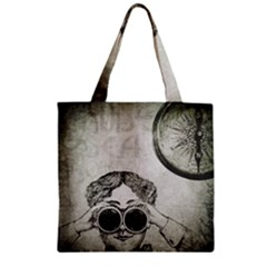 Vintage 1135015 1920 Zipper Grocery Tote Bag by vintage2030