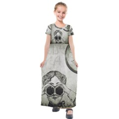 Vintage 1135015 1920 Kids  Short Sleeve Maxi Dress by vintage2030