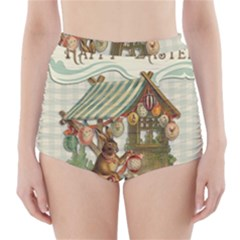 Easter 1225826 1280 High-waisted Bikini Bottoms by vintage2030