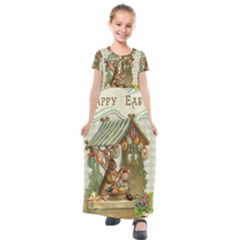 Easter 1225826 1280 Kids  Short Sleeve Maxi Dress by vintage2030