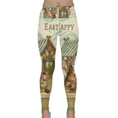 Easter 1225826 1280 Lightweight Velour Classic Yoga Leggings by vintage2030