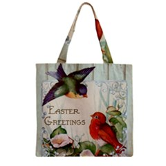Easter 1225824 1280 Zipper Grocery Tote Bag by vintage2030
