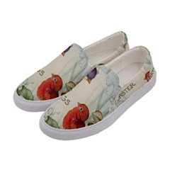 Easter 1225824 1280 Women s Canvas Slip Ons by vintage2030