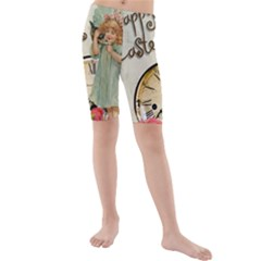Easter 1225805 1280 Kids  Mid Length Swim Shorts