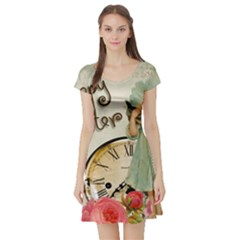Easter 1225805 1280 Short Sleeve Skater Dress
