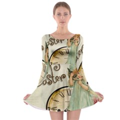 Easter 1225805 1280 Long Sleeve Skater Dress