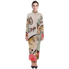 Easter 1225805 1280 Turtleneck Maxi Dress