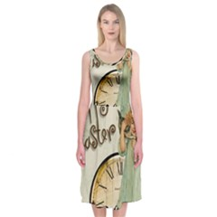 Easter 1225805 1280 Midi Sleeveless Dress